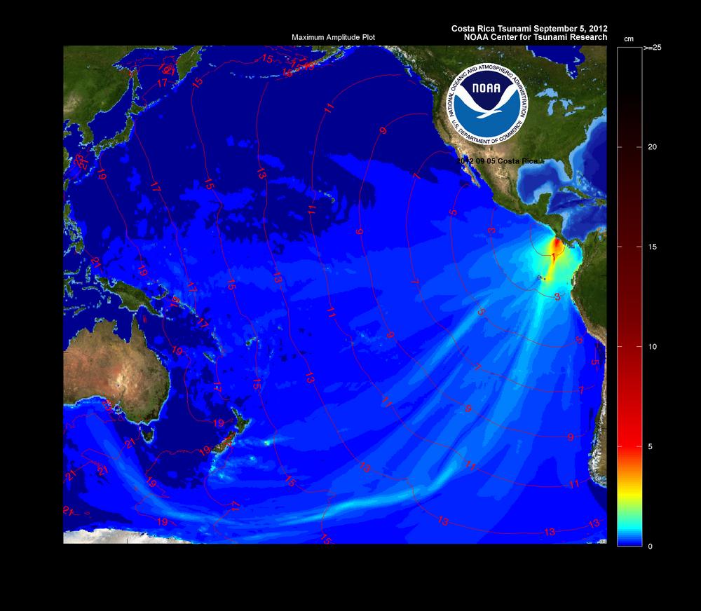 NOAA Center for Tsunami Research - Tsunami Event ...