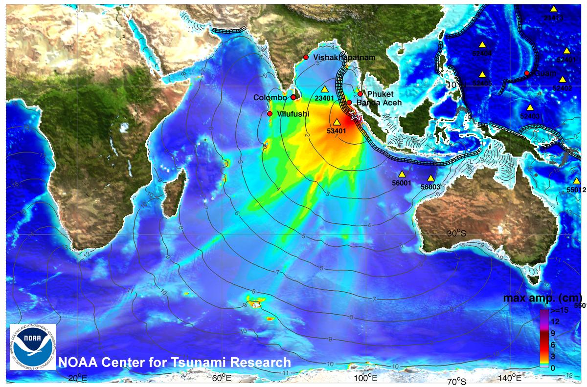 Noaa Center For Tsunami Research Tsunami Event April 6